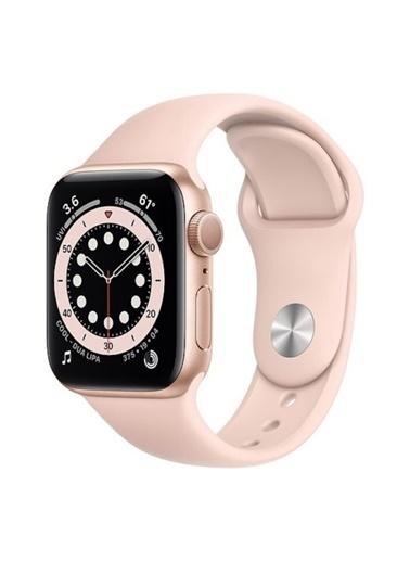 Apple Watch Series 6 Gps 44 Mm M00E3Tu/A Altın Rengi Alüminyum Kasa Ve Spor Kordon Akıllı Saat Pembe